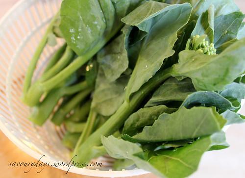Chinese broccoli (Cải làn)