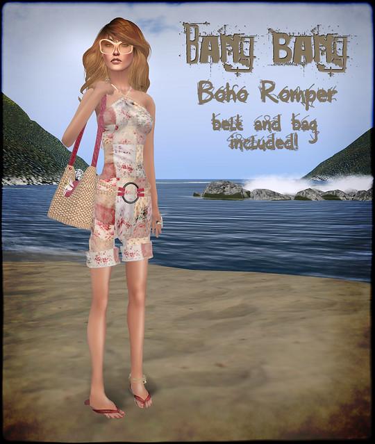 Bang Bang - Boho Romper
