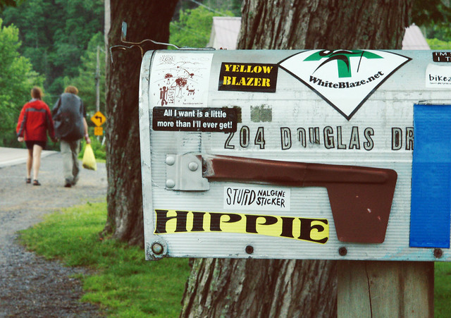 Hippie Mailbox @ Appalachian Trail Days