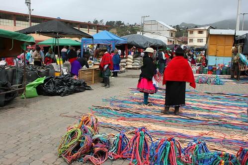 Market in Cañar