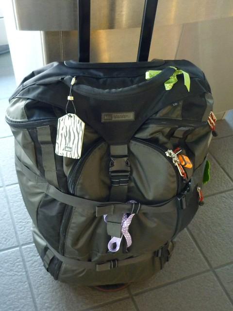 duffle suitcase
