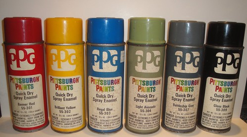 My Spray Paint Can Collection - Primarily Petroliana Shop Talk