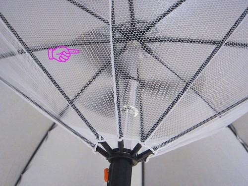 扇風機日傘