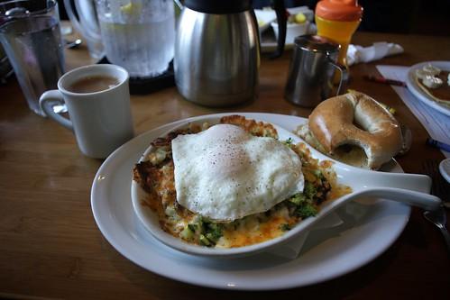 vegetable breakfast skillet