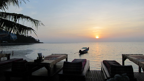Koh Phangan Sunset salad beach resort