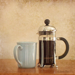 French Press (DigiDi) Tags: stilllife texture coffee frenchpress tabletopphotography 1cup digidi simplysuperb myowntexture