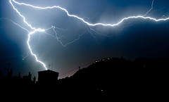 Not so far! (Antiquarks) Tags: grenoble lightning bastille eclair cloudslightningstorms superstarthebest flickrawards5 mygearandme mygearandmepremium mygearandmebronze mygearandmesilver mygearandmegold flickrawardgallery allnaturesparadise