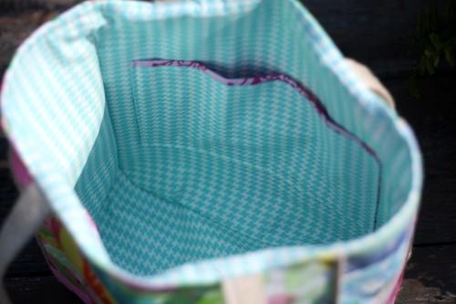 lilly bag inside