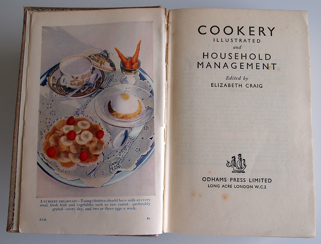Elizabeth Craig, Cookery Illustrated and Household Management