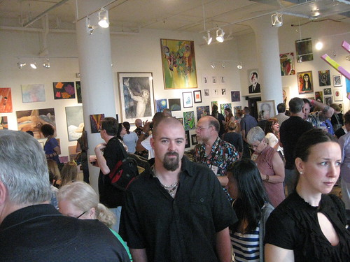 Hammered & Nailed opening reception, May 28, 2011