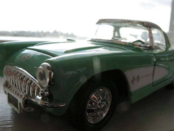 mint green 1957 corvette 001