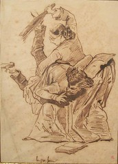 FRENCH SCHOOL - The Teacher (shepherdgallery French artists) Tags: french drawing teacher spanking