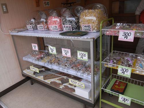 懐かしい手作り飴屋さん『いちのき菓子店』@きたまち