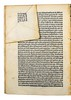 Folded corner of page from Brulefer, Stephanus: Formalitates in doctrinam Scoti