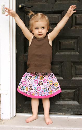 pink flowery skirt 2