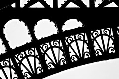 Steel II (mariano iannuzzi) Tags: blackandwhite bw france silhouette day time outdoor steel highcontrast conceptual francia imagetype 18250mm