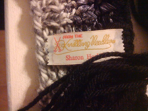 Knitting tag
