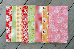 Cherry Fizz (Fresh Lemons : Faith) Tags: fabric barbarajones konasolids cherryfizz