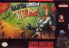 Earthworm Jim Cover Art