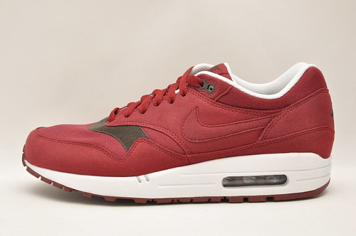 Nike Air Max 1 - Burgundy/White