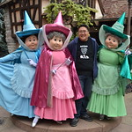 Meeting Merryweather, Flora and Fauna at L'Auberge de Cendrillon thumbnail