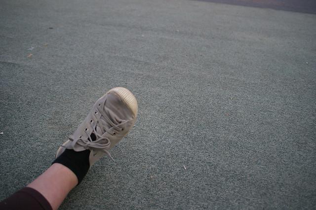 Solène a un pied