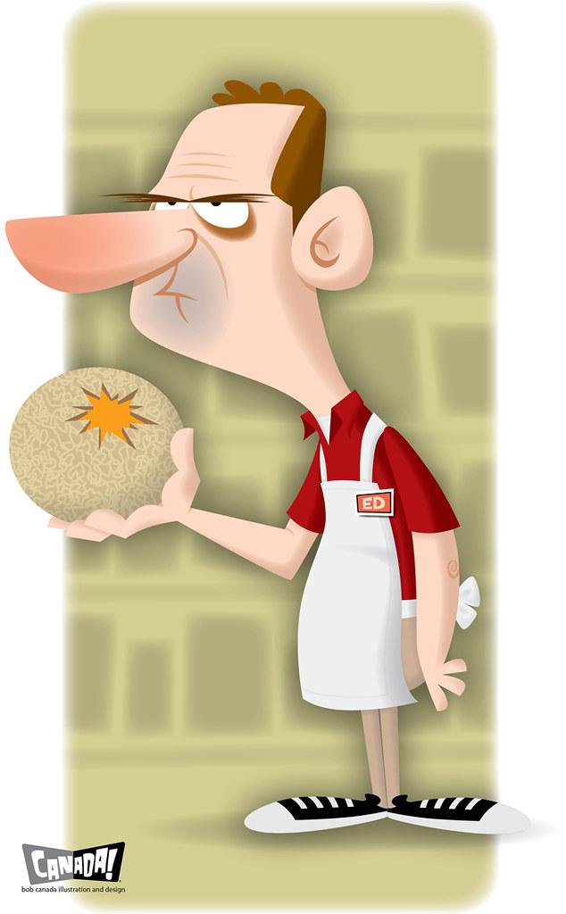 Ed Shoplotnik, Angry Grocer