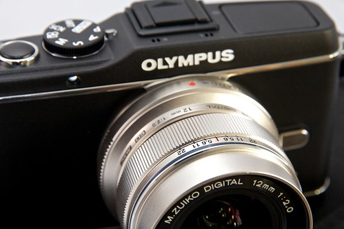 Olympus E-P3 with 12mm f/2.0