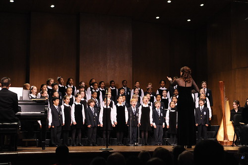 The Young People's Chorus of New York City perform their winter concert in 2008 at the 92nd St. Y.