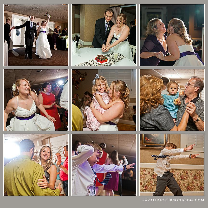Fiorella's Kansas City wedding reception
