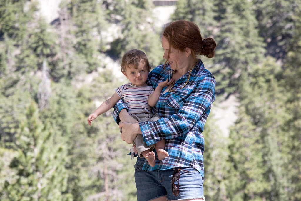 Mama and JW in Mt Baldy