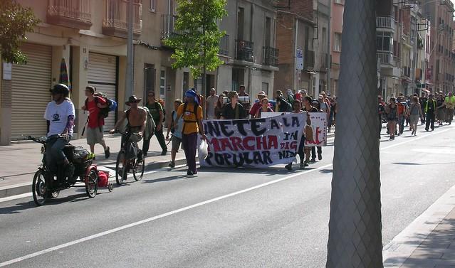 Marcha popular indignada