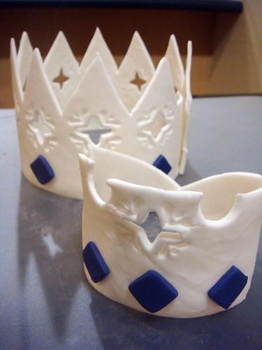 Gumpaste Crown