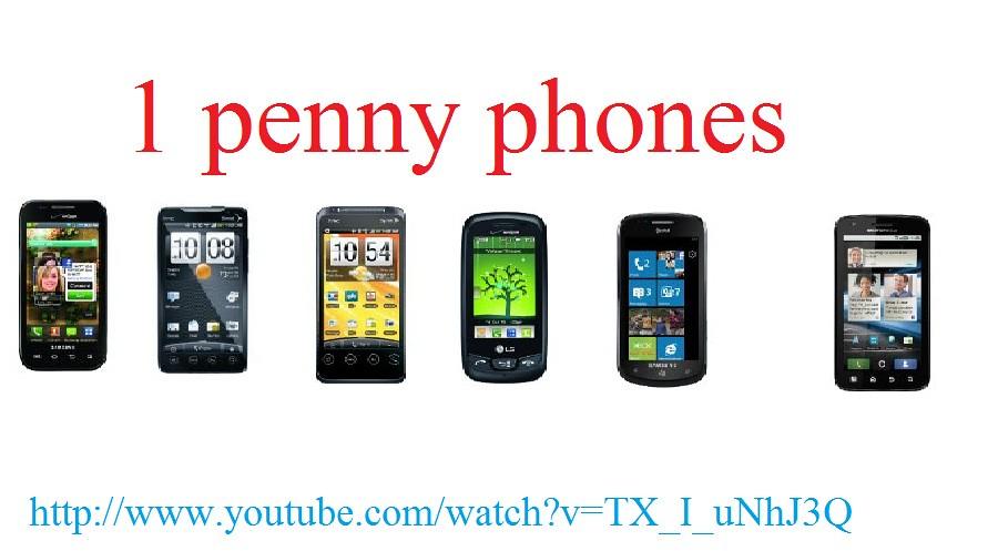 1 penny phones