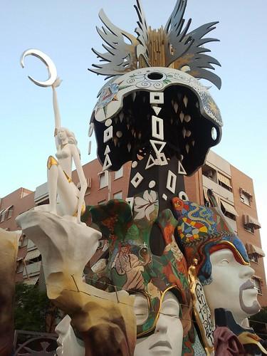 Fogueres de Sant Joan 2011. Alicante.
