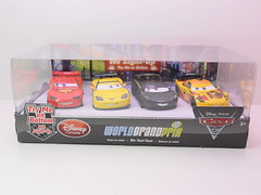 disney cars 2 disney store light up racers lightning jeff miguel lewis (1) (jadafiend) Tags: cars scale kids movie model disney animation lightup collectors adults exclusive theking sets playset disneystore diecast cars2 10car lightningmcqueen lewishamilton 4car siddley dinoco chickhicks rpm64 sidewallshine clutchaid nostall trunkfresh easyidle transberryjuice finnmcmissle raoulcaroule jeffgorvette maxschnell nigelgearsley miguelcamino spyshootout