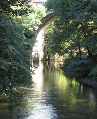 River Kelvin (rbjag71) Tags: river kelvin glasgow west end walkway belmont bridge canonpowershot sx610hs reflection tree nature