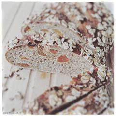 Apricot & Oat Bread (peterphotographic) Tags: img3563cb2magazineedwm apricotoatbread canon g15 square peterhall walthamstow e17 eastlondon london england uk britain home kitchen bread richardbertinet dough bake baking apricot oat fruit food foodporn