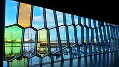 Reykjavk - Harpa ( ) Tags: iceland   reykjavik urban city  building colorful  harpa
