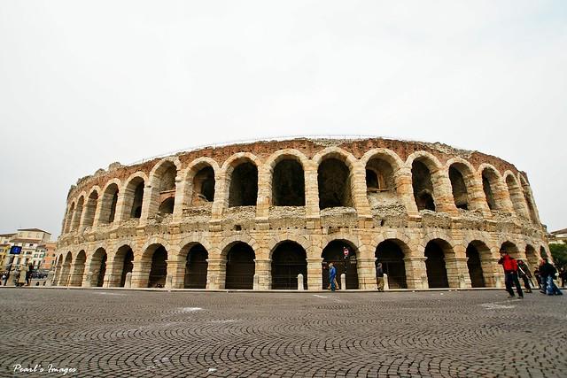 羅馬時代至今的圓形競技場