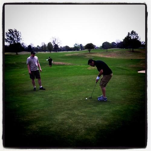Golfing in Tyler TX