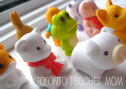 Eco-Friendly Collectible Erasers