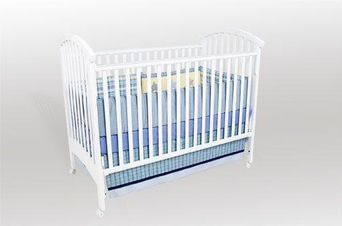 delta crib with safety tags