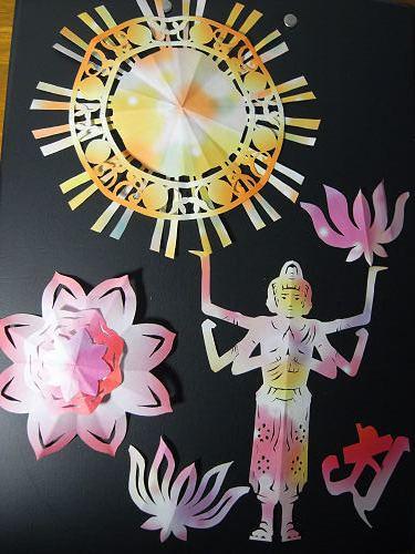 書評『仏像の切り紙』-09
