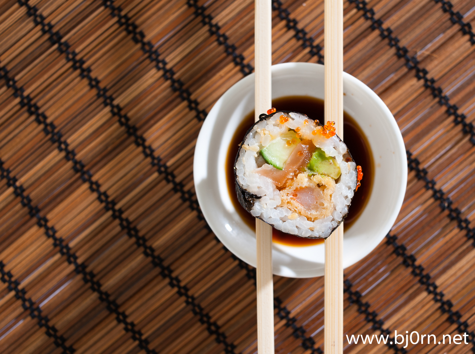 photo: Bjørn Christiansen, Sushi from Rema 1000 (Bryggen Asian Cooking)