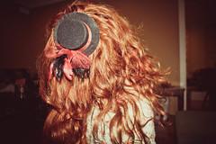 (sarah hall.) Tags: selfportrait hat hair ginger redhair lightroom minihat