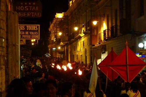 Parade - Sucre, Bolivia