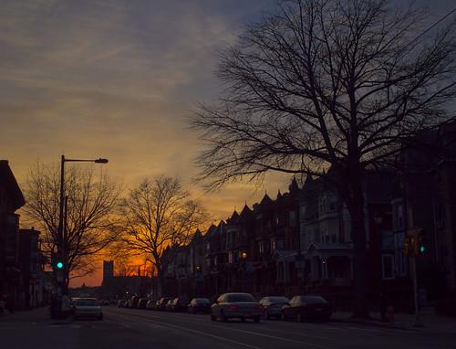 That street again