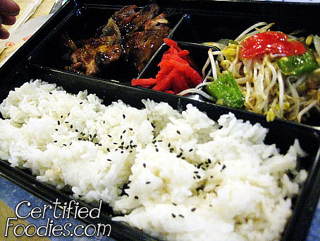 Raku's Chicken Teriyaki Bento, Php 145 - CertifiedFoodies.com