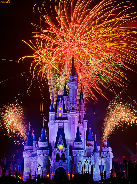 Beautiful Pictures Of Fireworks At Disney World